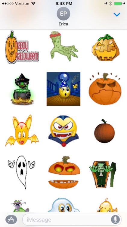 Animated Halloween Stickers for iMessages screenshot-3