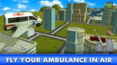 飞行救护车:3D飞行模拟器 App 截图