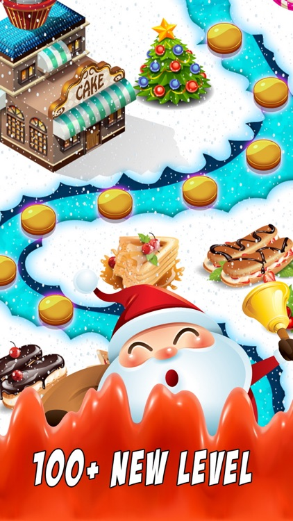 Sweet Santa Candy - New match 3 best game puzzle screenshot-3