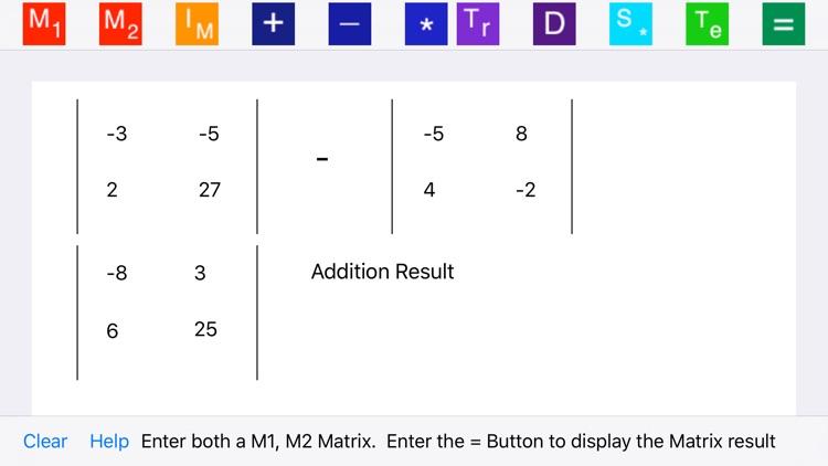 Elementary Matrix Algebra