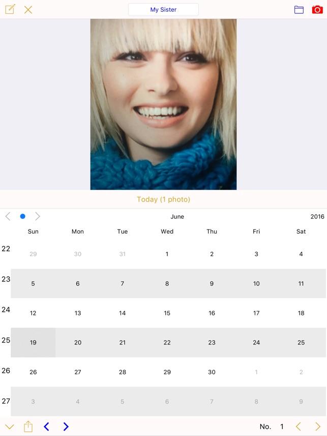 Foto-Kalender Photo Calendar Screenshot
