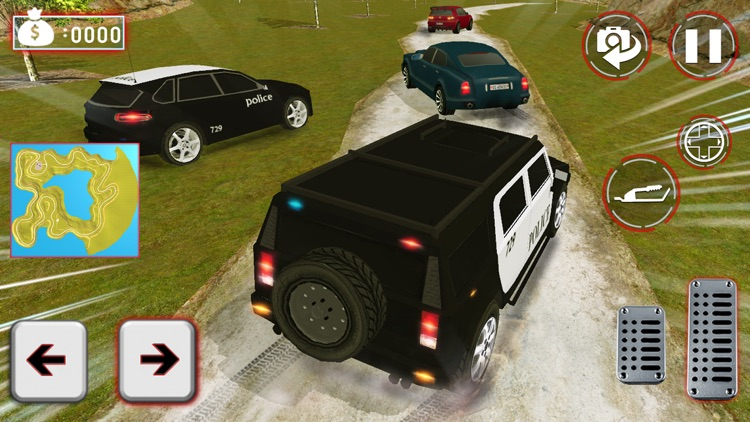 Real City Police Car Driving Crime Chase 3D