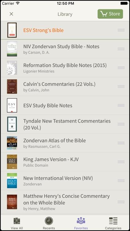 ESV Bible Bundle by Olive Tree screenshot-4