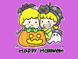 Happy Halloween − NHH Stickers