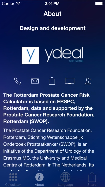 Rotterdam Prostate Cancer Risk Calculator screenshot-3