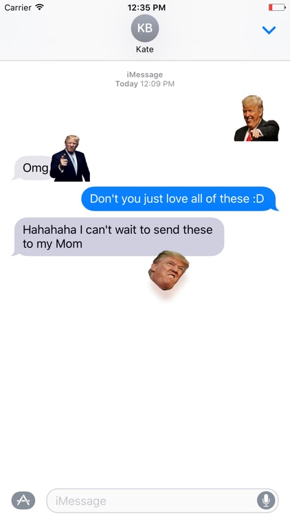 Make Stickers Great Again screenshot-0