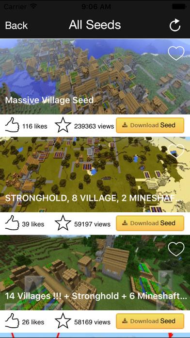 点击获取MinePE Seeds for Minecraft PE Pocket Edition