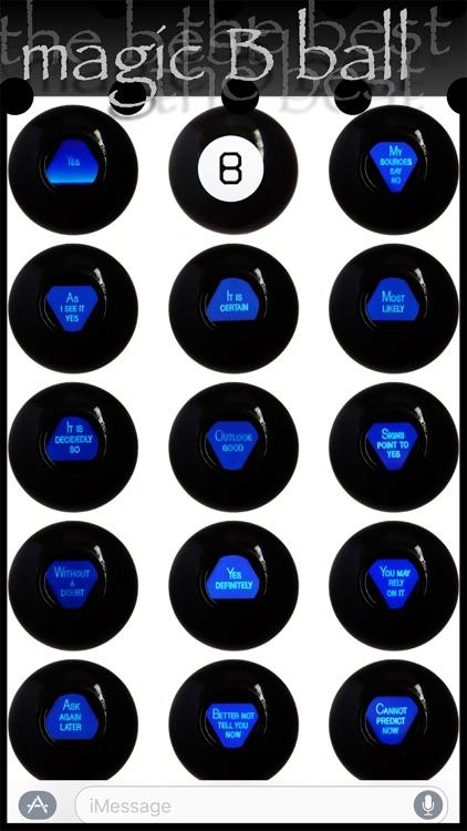 Magic B Ball (magic generic billiard ball) screenshot-3