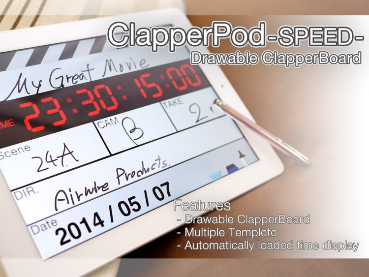 ClapperPod SPEED