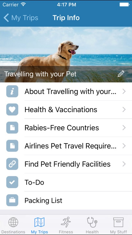 My Travel Health screenshot-3