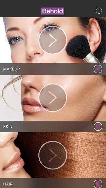Behold : Contouring plus selfie makeup editor app