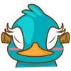 Burdz the bird for iMessage Sticker
