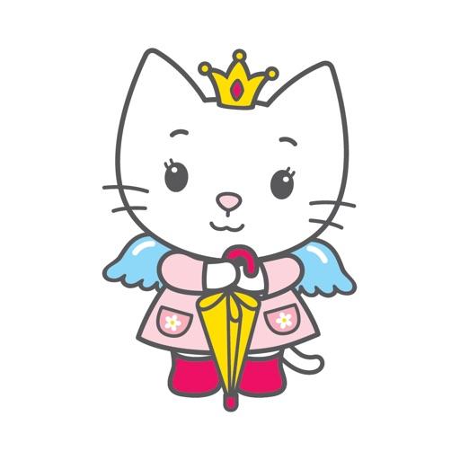 Angel Cat Sugar Stickers