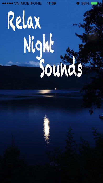 Relax Night Sounds - White Noise screenshot one