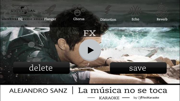 Alejandro Sanz LMNST Karaoke screenshot-4