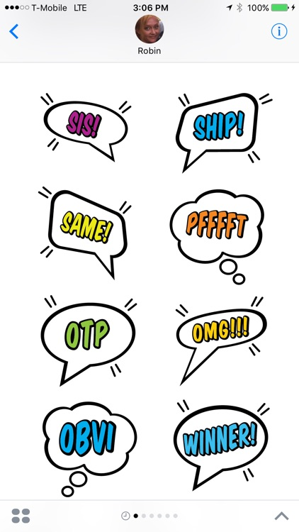 Blurby - Speech Balloons screenshot-4
