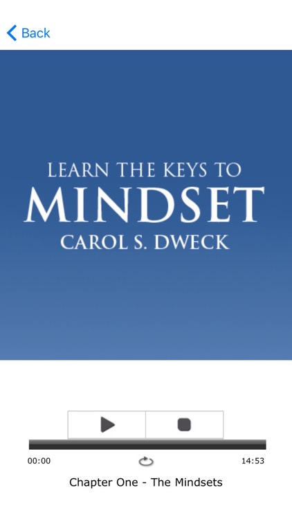 Mindset by Carol S. Dweck Meditation Audiobook screenshot-3