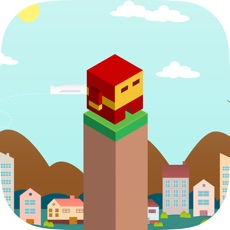 Activities of Super Heroes Pillars Jumping