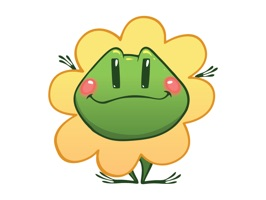Cute Frog Sticker for iMessage #1