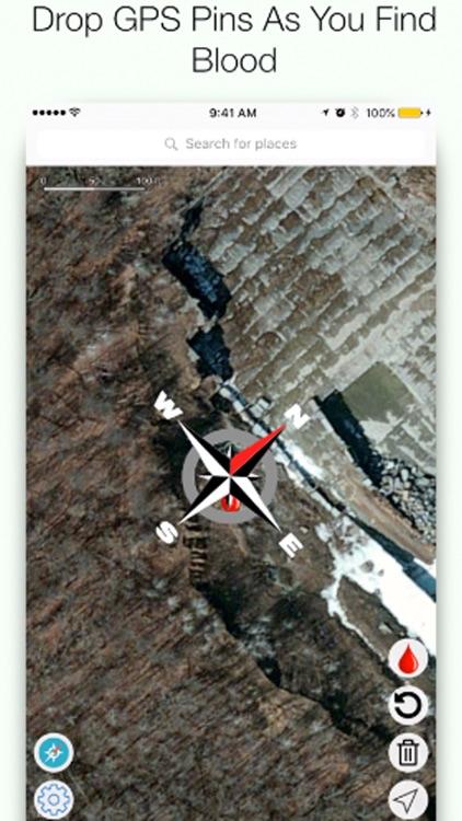 Moose Hunting Blood Tracker - Moose Hunting App