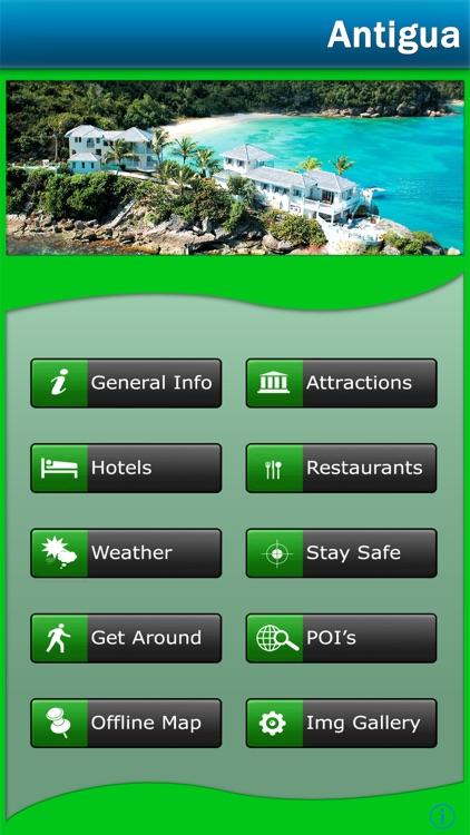 Antigua & Barbuda Offline Guide