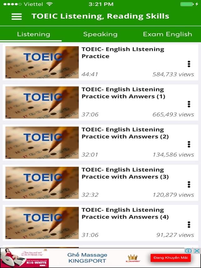 Toeic speaking testden.