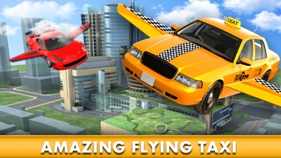 Flying Cab Yellow Taxi Flight Simulator F16 Carang
