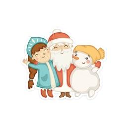 Christmas Spirit - Merry Xmas Stickers