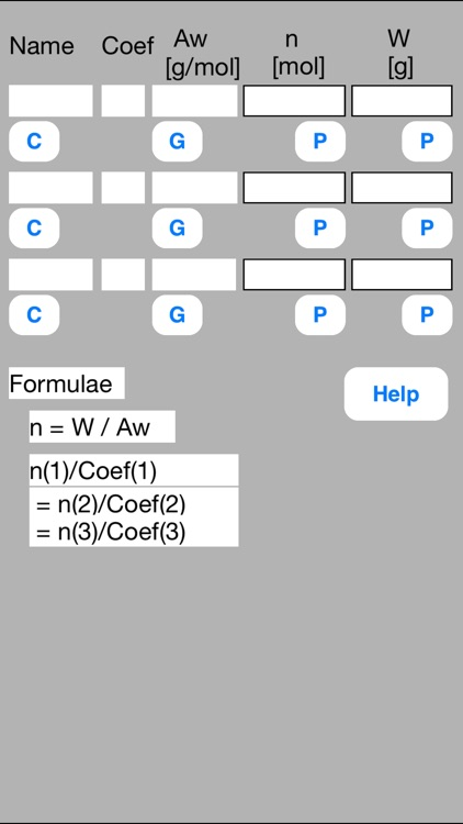 Mol Calculator mini screenshot-0