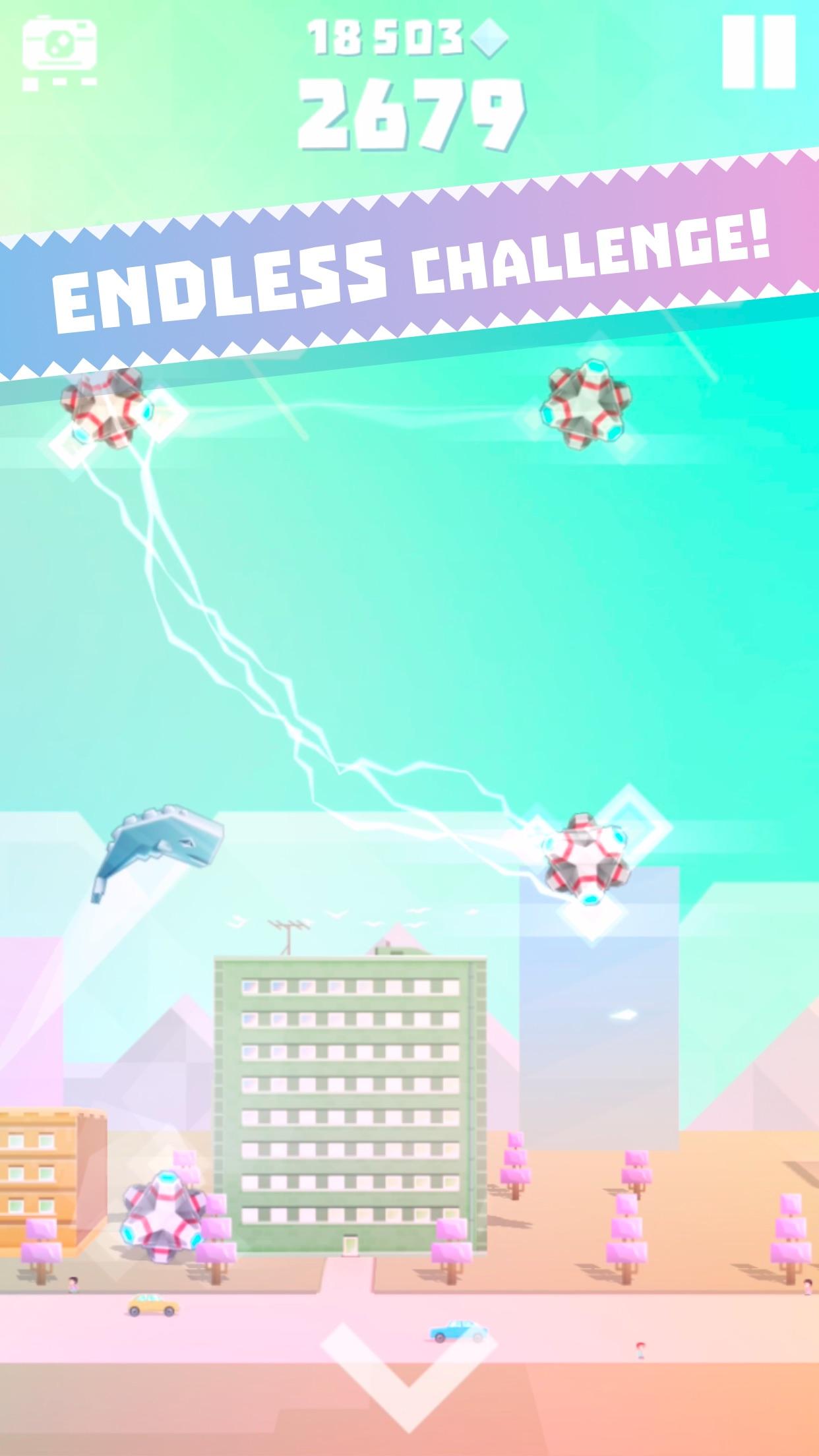 Ookujira - Giant Whale Rampage Screenshot