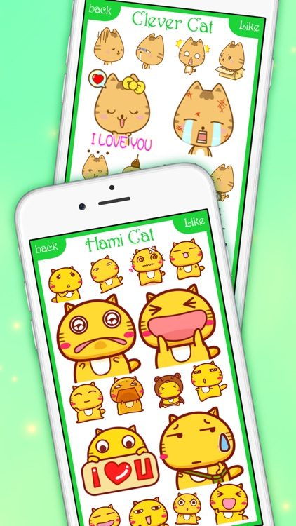 CatsMoji - Animated Cats for iMessage & WhatsApp