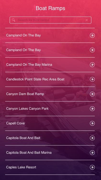 California Boat Ramps