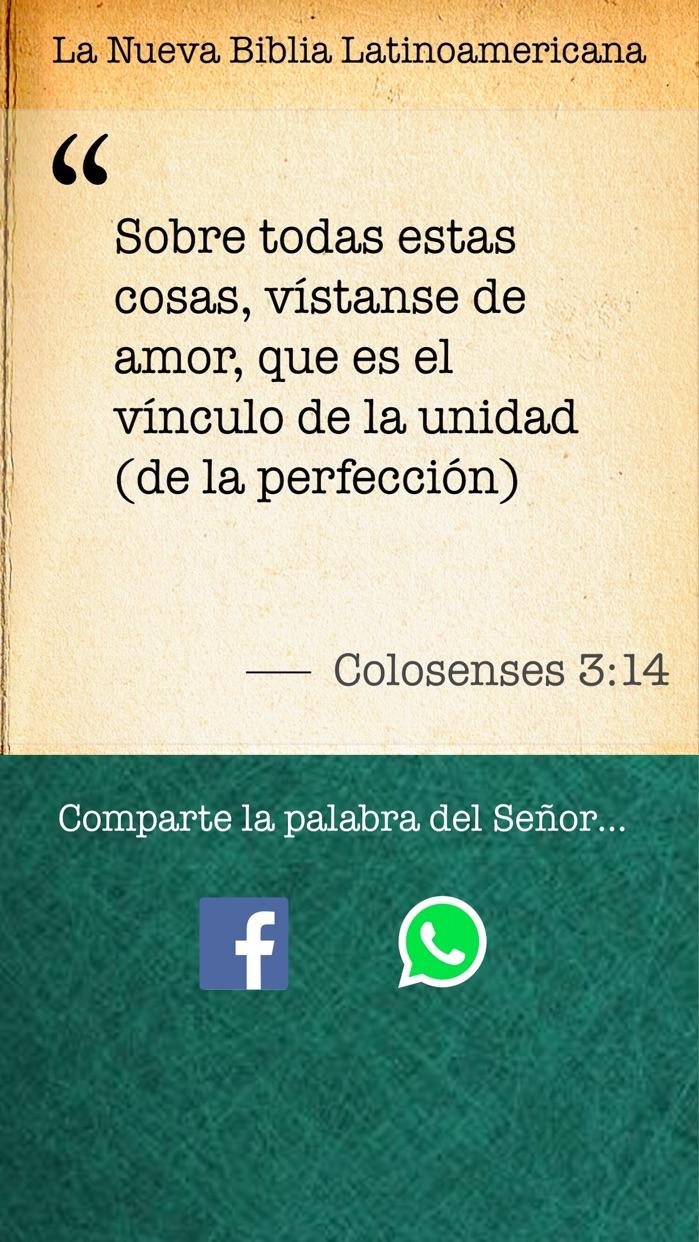Biblia Diaria - Latinoamericana Screenshot
