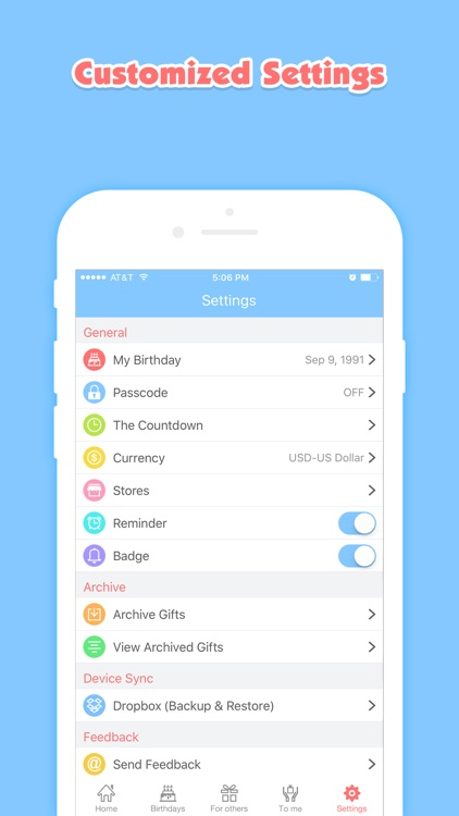 Birthday Planner Pro - Event Countdown & Gift List screenshot-4