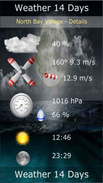 天氣數字14天屏幕截圖4