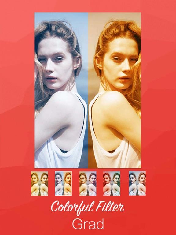 Lidow -  Powerful Blur Splash Grad Mirror and Square Filter  Photo Editor screenshot