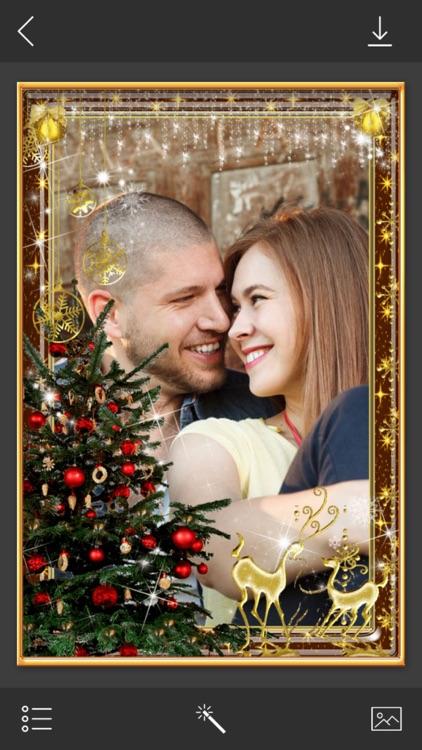 Christmas HD Frame - insta frames for photo screenshot-3