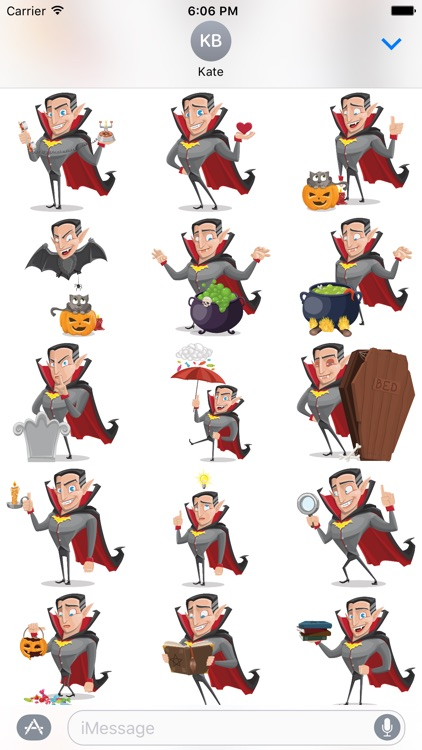 Count Transylvania - Funny Vampire Sticker Pack screenshot-2