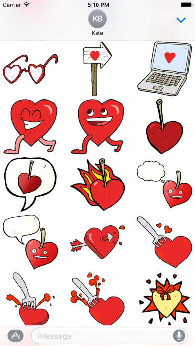 Hearts! The DoodleBomb Collection screenshot two