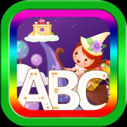 ABC English alphabet tracing decals family game