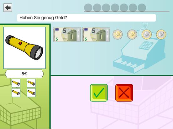 Rechnen üben mit dem Euro Pro screenshot one