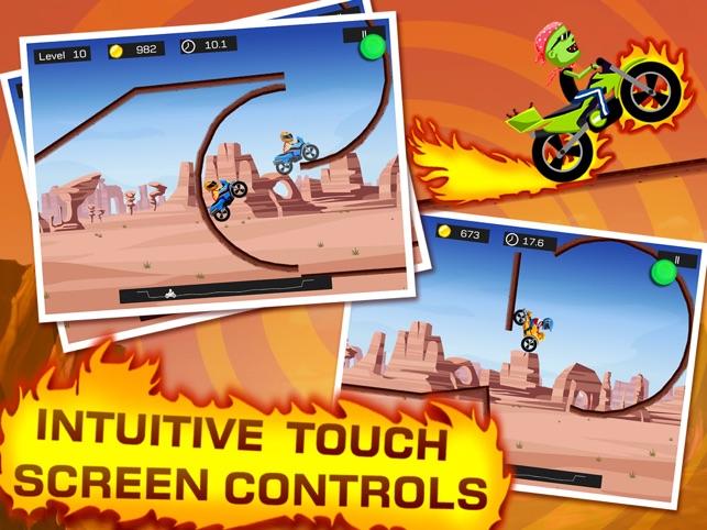 Top Bike - Best Motorcycle Stunt Racing Game Screenshot