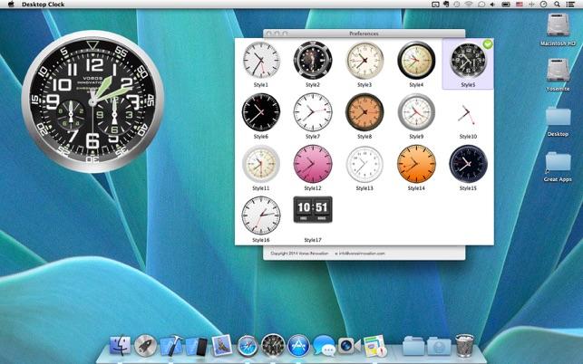 Desktop Clock Wallpaper Live Dock Icon On The Mac App Store