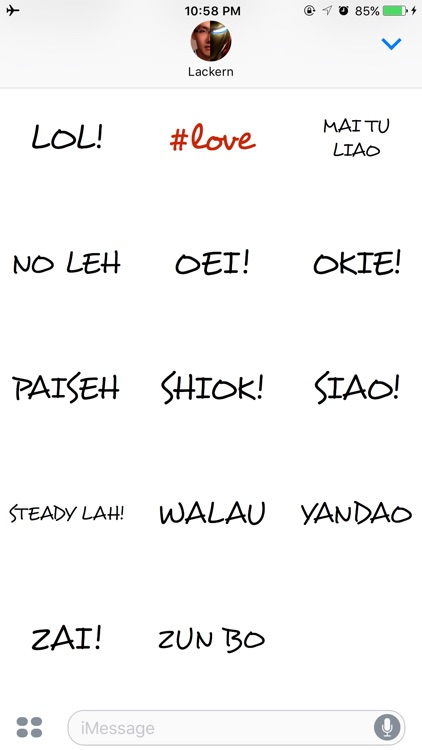 Singlish Stickers