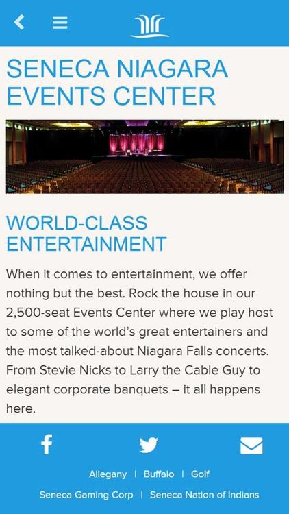 Seneca Niagara Resort & Casino screenshot-4