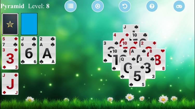Pyramid Solitaire - Free Card Game screenshot-3