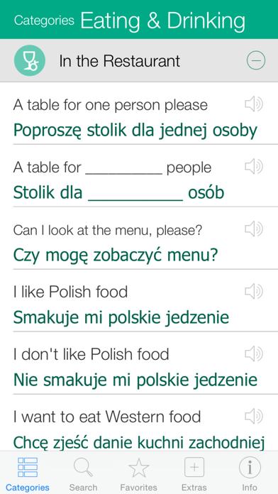Polish Pretati - Speak with Audio Translation screenshot two