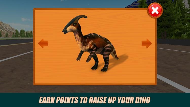 Jurassic Dino Racing Challenge 3D Full screenshot-3