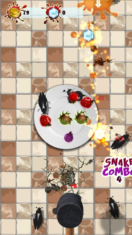 Food Defense - Bug smasher screenshot-3