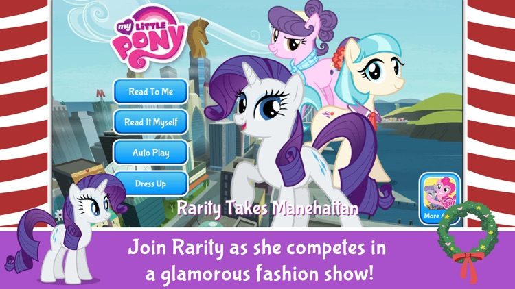 My Little Pony: Rarity Takes Manehattan screenshot-0